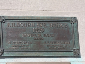 Kilbourn Avenue bridge marker