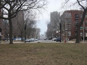 Leif Erikson view down E. State Street