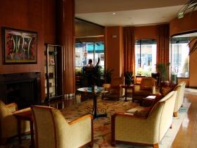 Lobby with bar.