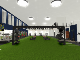 New Athletics Space at The MAC