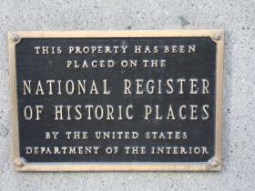Mackie Building historic marker