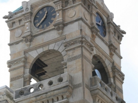 The Clock Tower at the Mackie Building