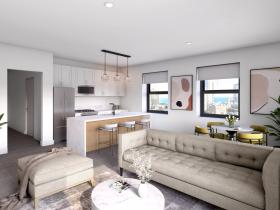 MAC Residences Living Room