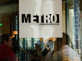 Metro supper club. Photo by Nastassia Putz.