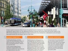 Milwaukee Streetcar Economic Development Guide - DRAFT