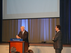 Tom Barrett and NML CEO John Schlifske