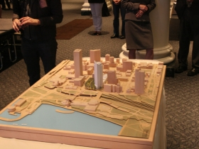 Model of the new NML Tower.
