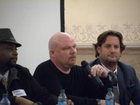 Derek Mosley, Jason Korb, and Rick Barrett.