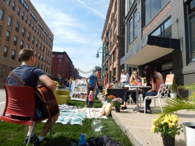 Park(ing) Day at Engberg Anderson Architects