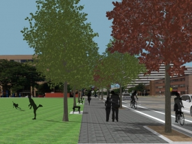 Cathedral Square Park Rendering