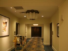 Hallway in the Marriott.