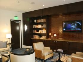 VIP concierge lounge.