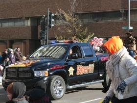 Here comes Sheriff David Clarke.