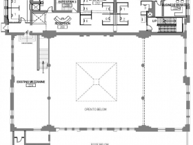 Proposed Mackie Building level two plan.