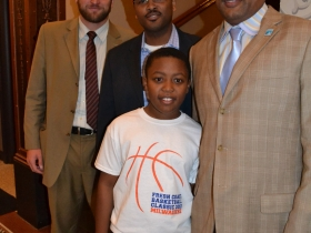 Alderman Kovac, Hamilton, Wade and his son