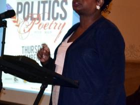 Congresswoman Gwen Moore performs her poem