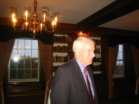 Mayor Tom Barrett at Lassa Fundraiser.