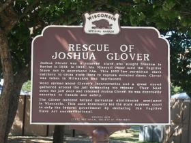 Rescue of Joshua Glover marker