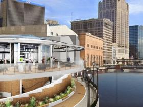 Associated Bank River Center Exterior Rendering