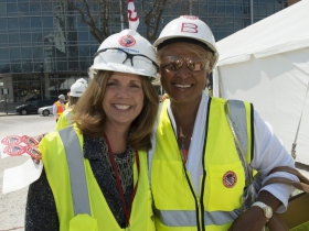 Sandy Botcher, of Northwestern Mutual and June Perry, owner of BestEd.
