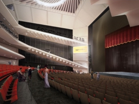 Marcus Center Campus Master Plan Rendering