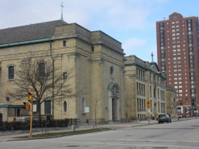 St. John's Cathedral buildings