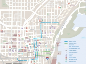 Milwaukee Streetcar Map