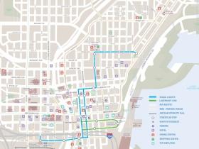 Milwaukee Streetcar Map