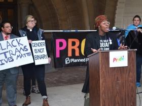 Transgender Activist Yante Turner