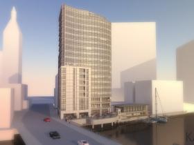 18-Story Tower Rendering