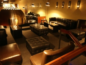 Whiskey Bar lounge area