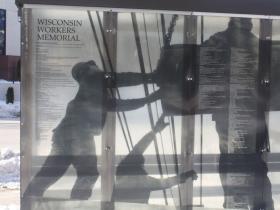Wisconsin workers memorial in Zeidler Union Square