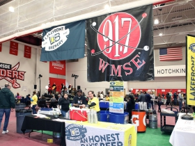 WMSE Rockabilly Chili Fundraiser held at the MSOE University Kern Center on March 10th, 2019