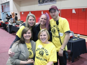 WMSE Rockabilly Chili Fundraiser volunteers