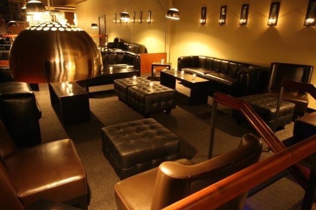 Whiskey Bar lounge area