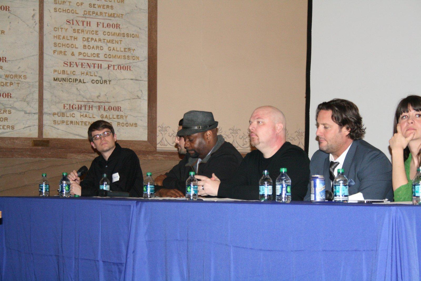 Matt Wild, Fernando Reyes, Derek Mosley, Jason Korb, Rick Barrett, and Anna-Marie Opgenorth.