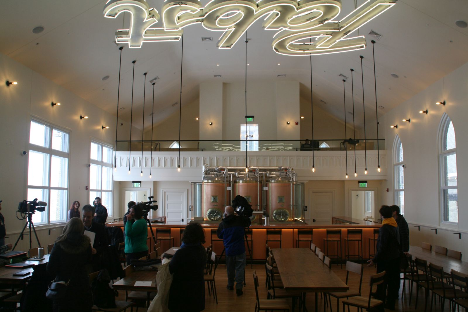 Future Restaurant at Pabst Brewery