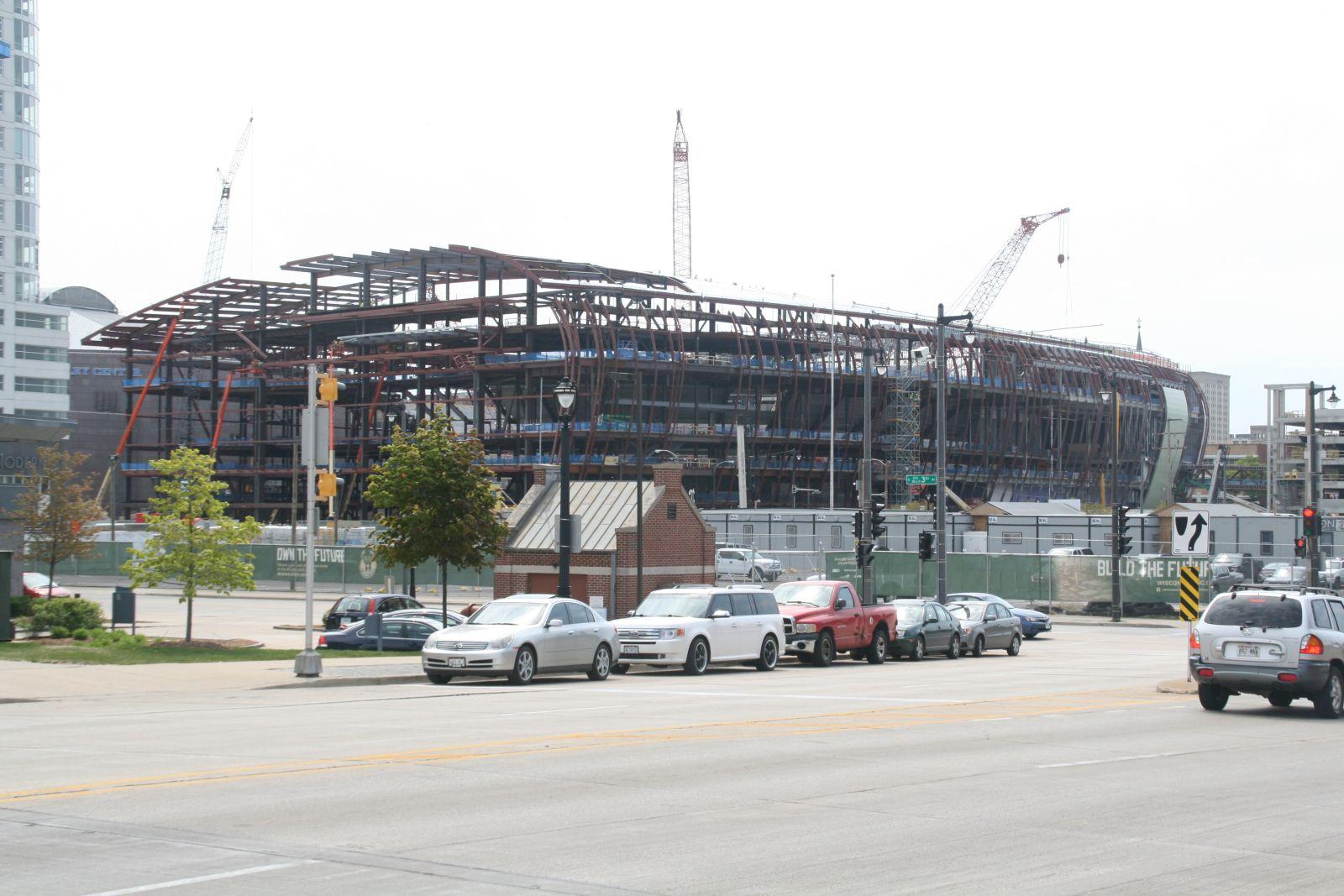 Wisconsin Entertainment & Sports Center Construction