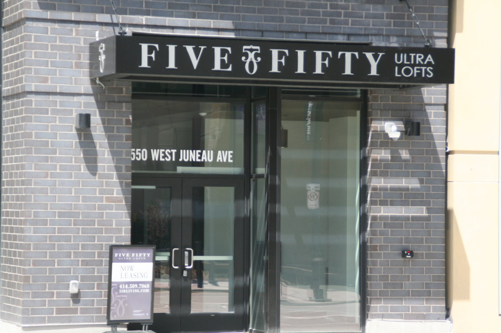 Five Fifty Ultra Lofts Lobby