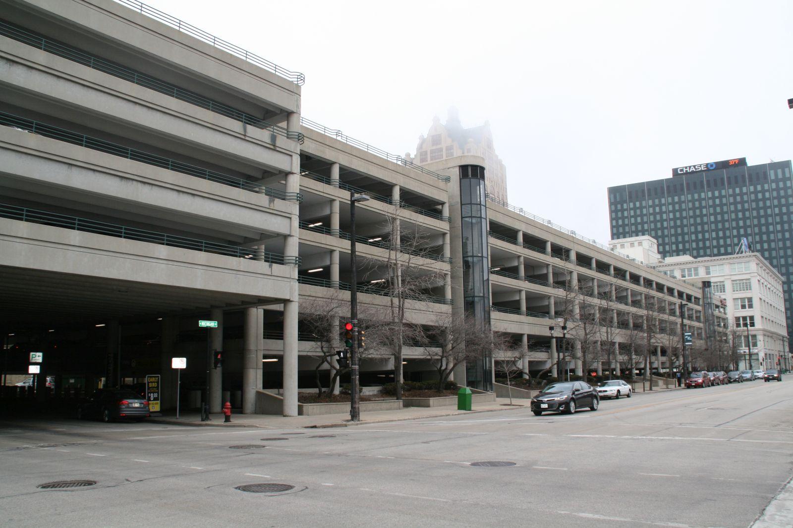 Shops of Grand Avenue Parking Garage