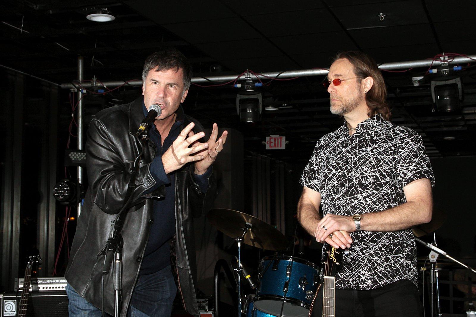 Brad Smith and Patrick Nettesheim, founder of G4Vets