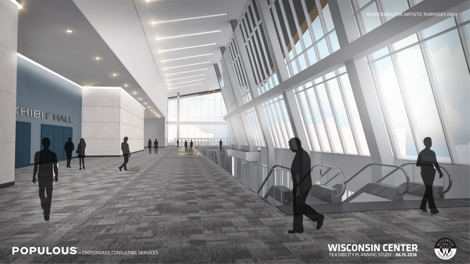 Wisconsin Center Expansion Rendering