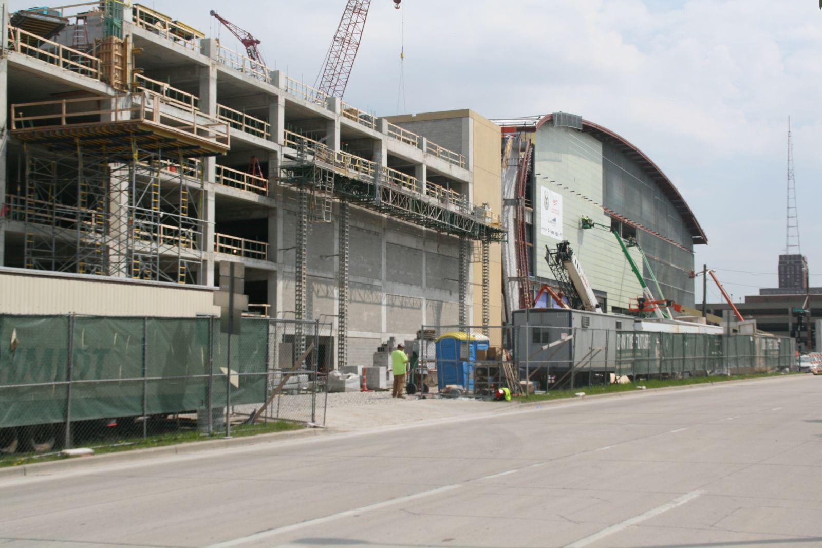Parking Garage for New Arena