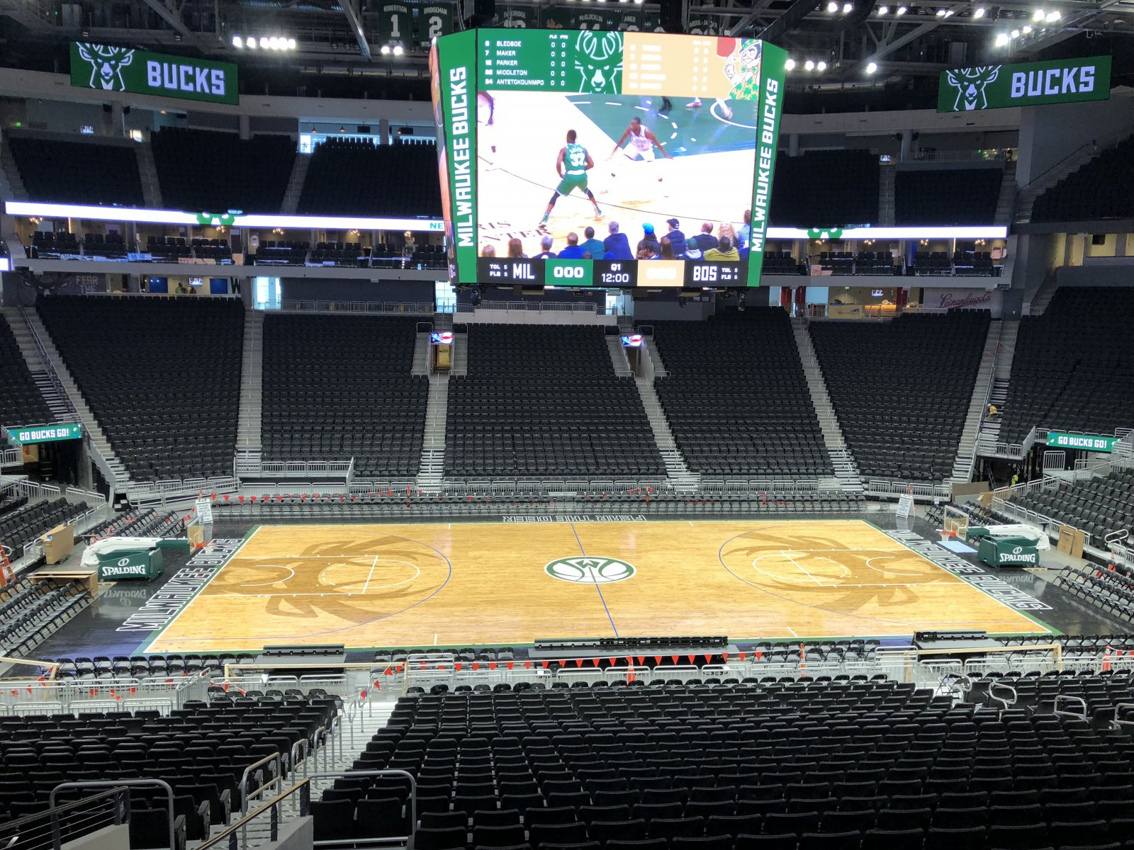 Center Court from the Concourse