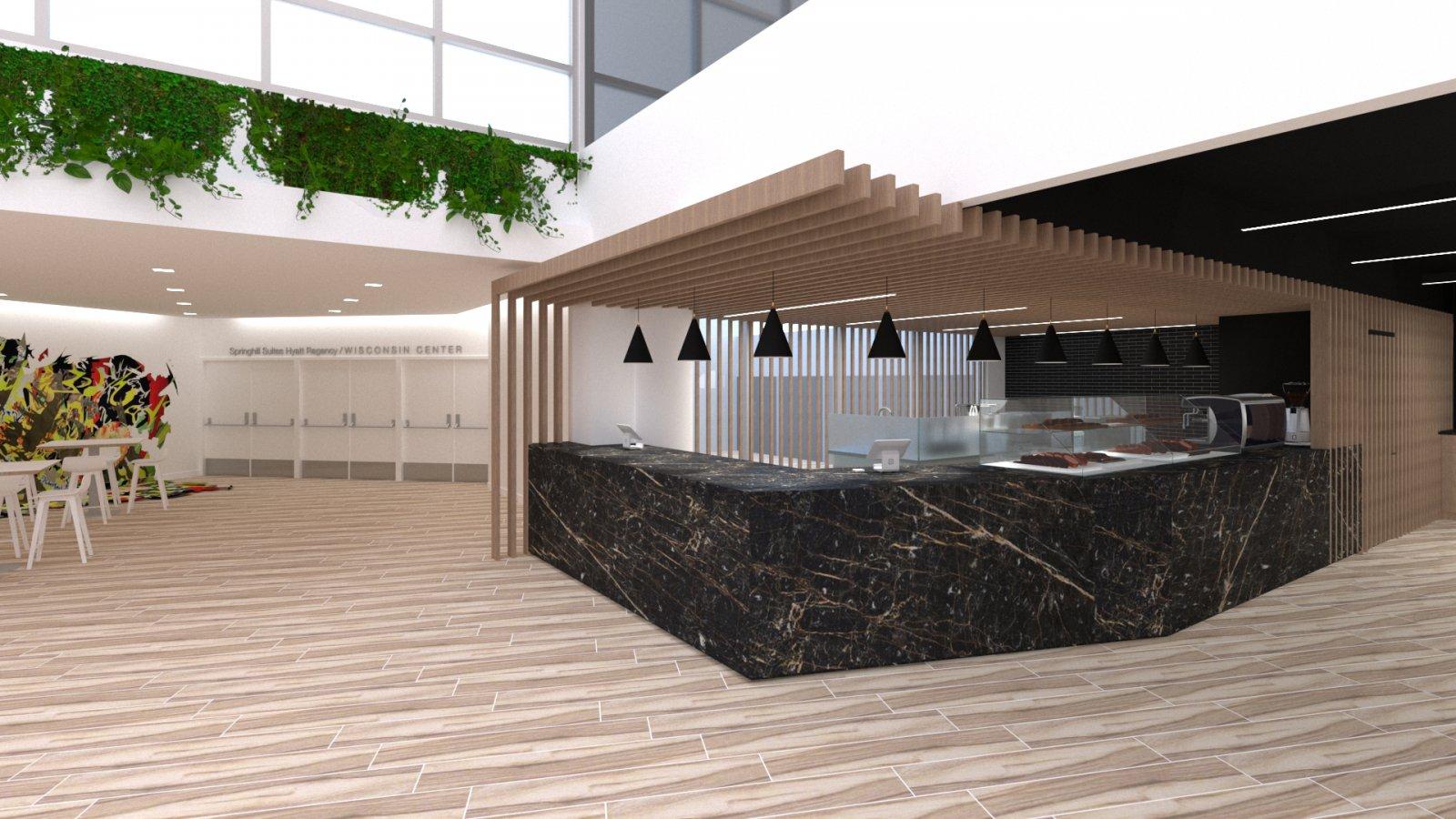 Mezzanine Cafe at 310W