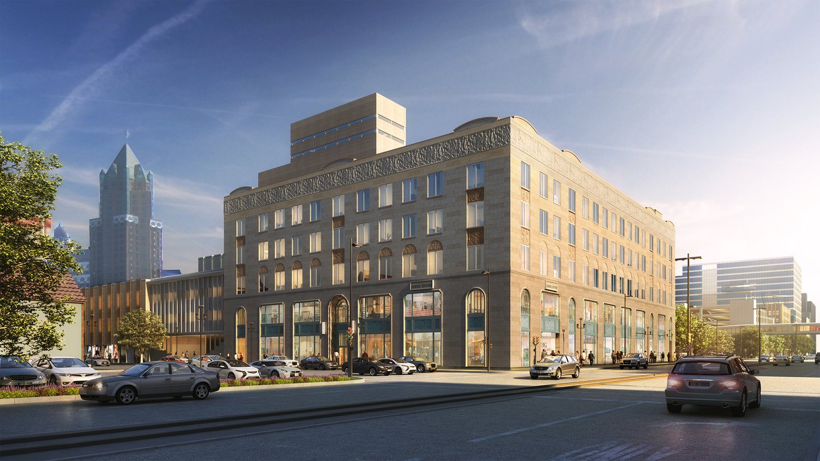 Journal Square Lofts Rendering