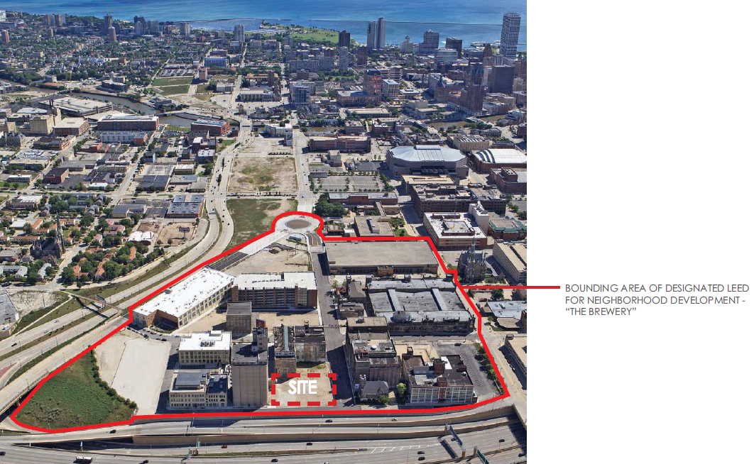 Context Aerial Photo - Pabst Business Center