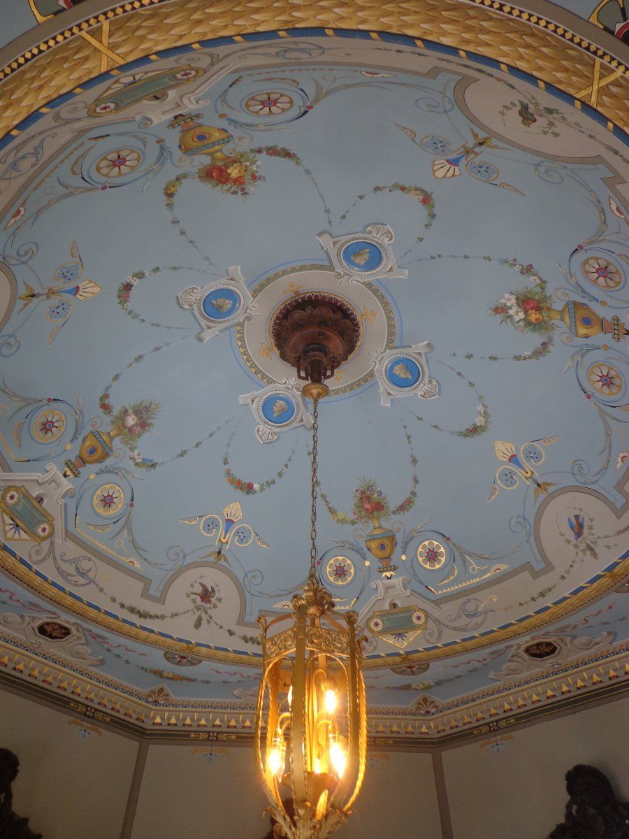 The Belvedere\'s ceiling.