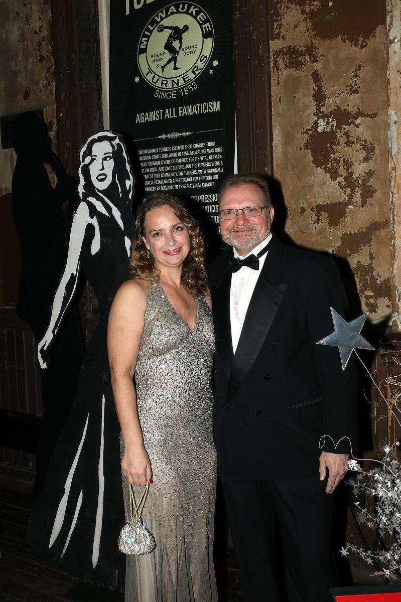 Christina Ively and Mark Medina