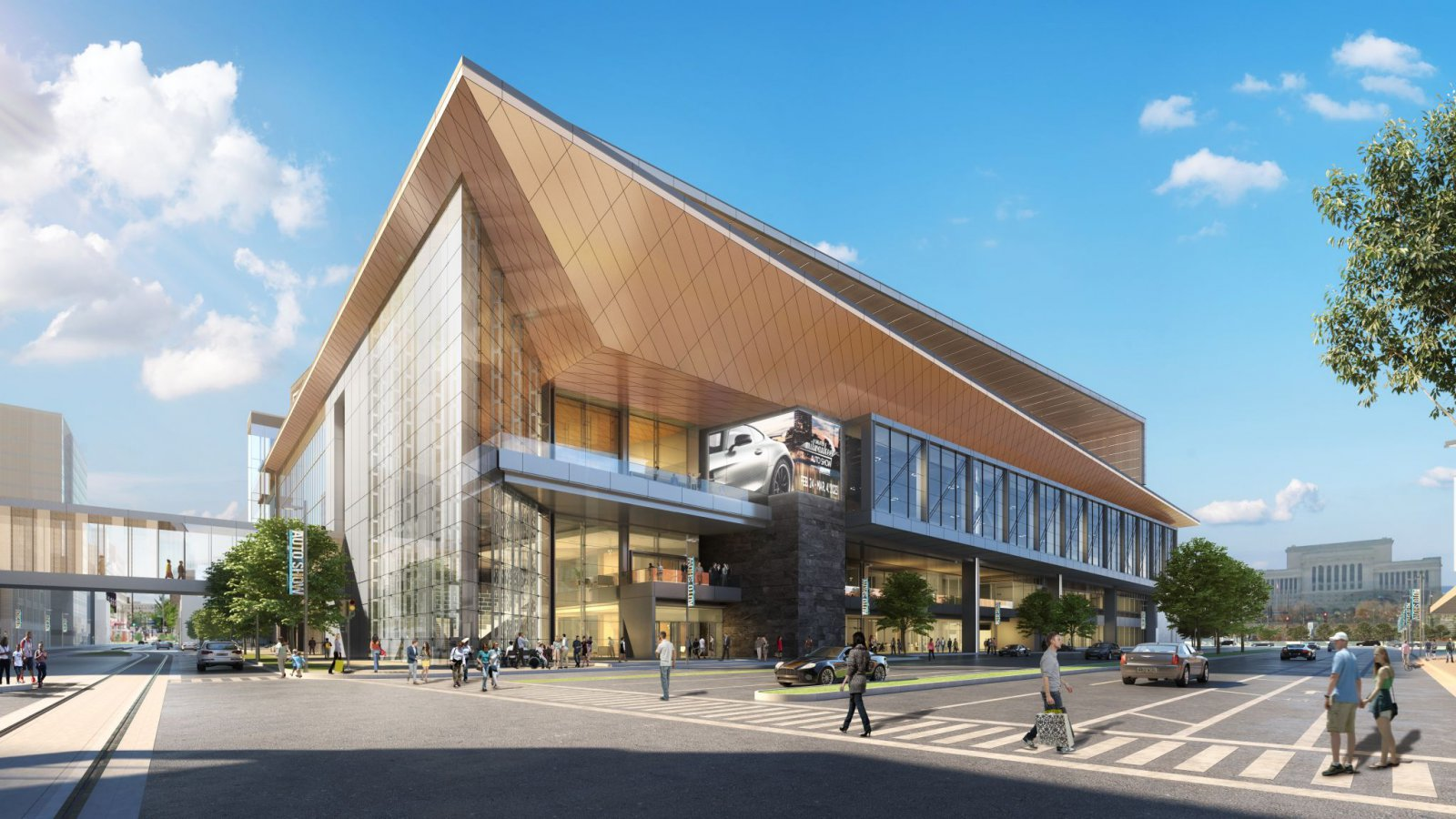 Exterior - Wisconsin Center